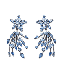 Starlight Sapphire Earrings