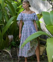 Retro Blush Spanish Rah Rah Dress