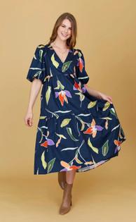 Brawley Blue Lily Dress