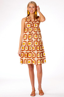 Ro Geo Short Dress