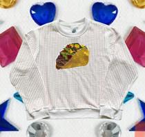 Rhinestone Taco Sweatshirt