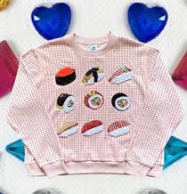 Rhinestone Sushi Sweatshirt