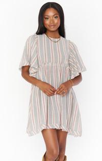 Brooks Babydoll Mini Dress