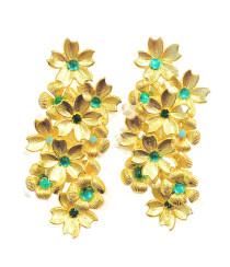 Emerald Fields Earring