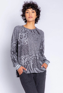 Patch Perfect Long Sleeve Top