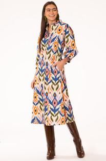 Margot Dress - Medium Ikat