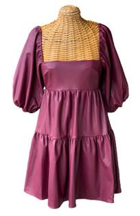 Maisie Wine Dress