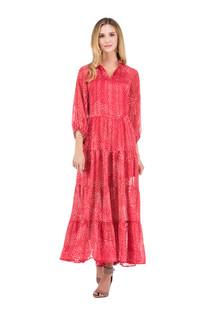 Flare Tiered Maxi Dress