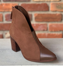 Bonita Brown Over Ankle Bootie