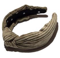Olive Corduroy Headband