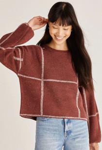 Solange Crimson Sweater