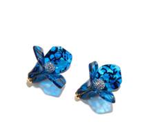 Trillium Studs - Royal Blue
