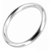 BA28S Big Round Bangle - Silver