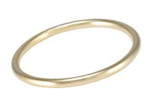 BA25 Round Bangle - Gold
