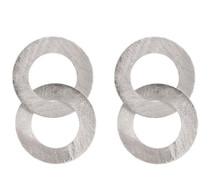 BRM1063S Greta Earring - Silver