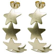 Aaron 5 Star Hoop BR3381 Gold