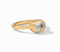 Gold CZ Jewel Stack Ring - size 7 - R165GCZ-7