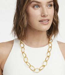 Fleur-de-Lis Link Necklace N370G00