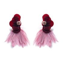 Wren Earring - Garnet