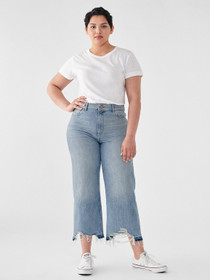 Hepburn Hise Rise Wide Leg Denim