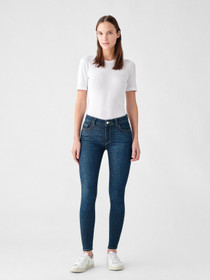 Florence Skinny Mid Rise Instasculpt Ankle