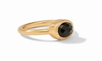 Jewel Stack Ring - Obsidian Black sz 7 - R165GBO-7