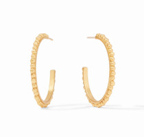 Colette Bead Hoop - Medium - HP052G-M