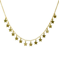 Capella Star Necklace COM103