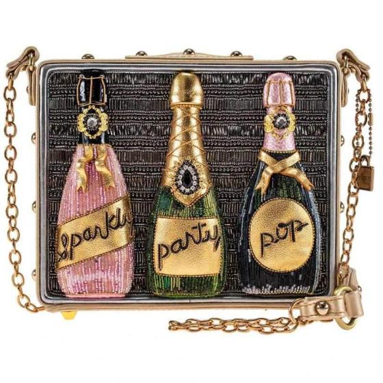 Sparkling Champagne Crossbody Handbag