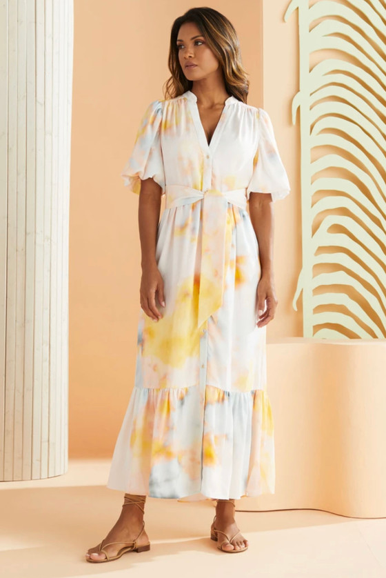 Barby Barely Sunset Shirtdress