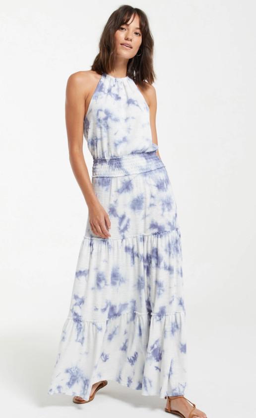 Beverly Cloud Tie-Dye Dress