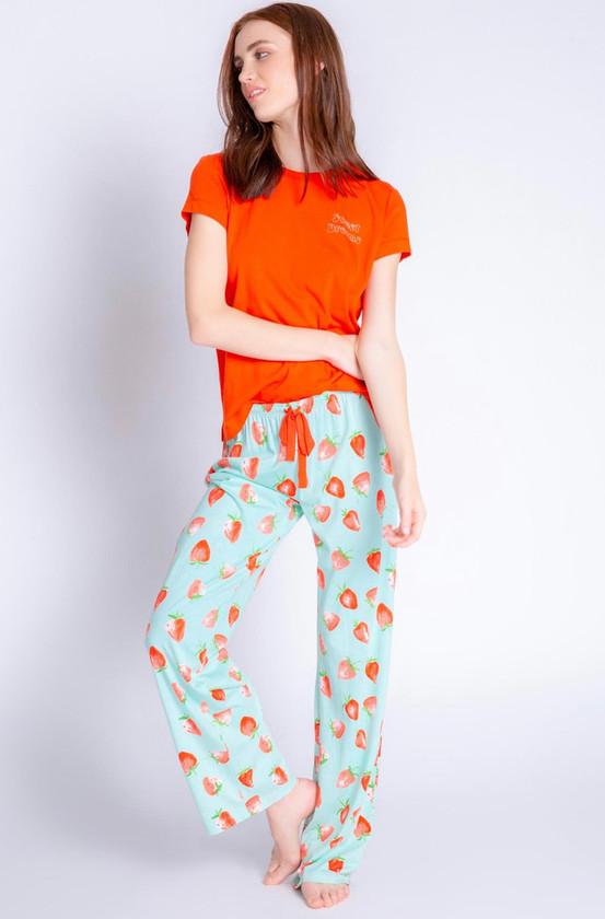 Playful Strawberry Pant