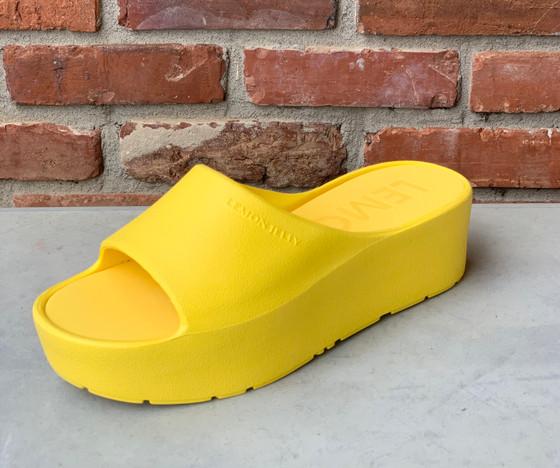 Vibrant Yellow Sunny Sandal