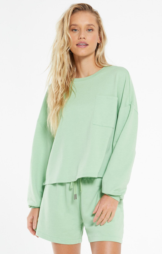 Miki Terry L/S Top