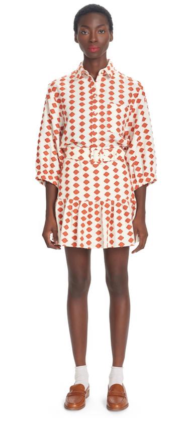 Blair Spotted Skirt