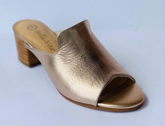 Daisy Block Heel Sandal