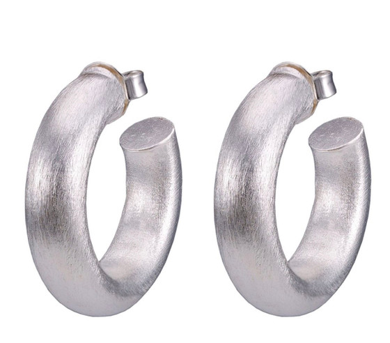 Silver Small Chantal Hoop BR1290S