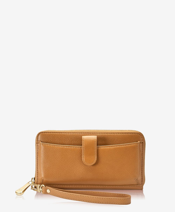 City Wallet - Camel Napa Luxe Leather