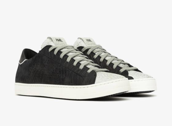 John Sneaker Black Zeb/Leo