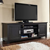 """Walker Edison Traditional Sliding Door TV Stand Cabinet for Most TVs Up to 78"""""""