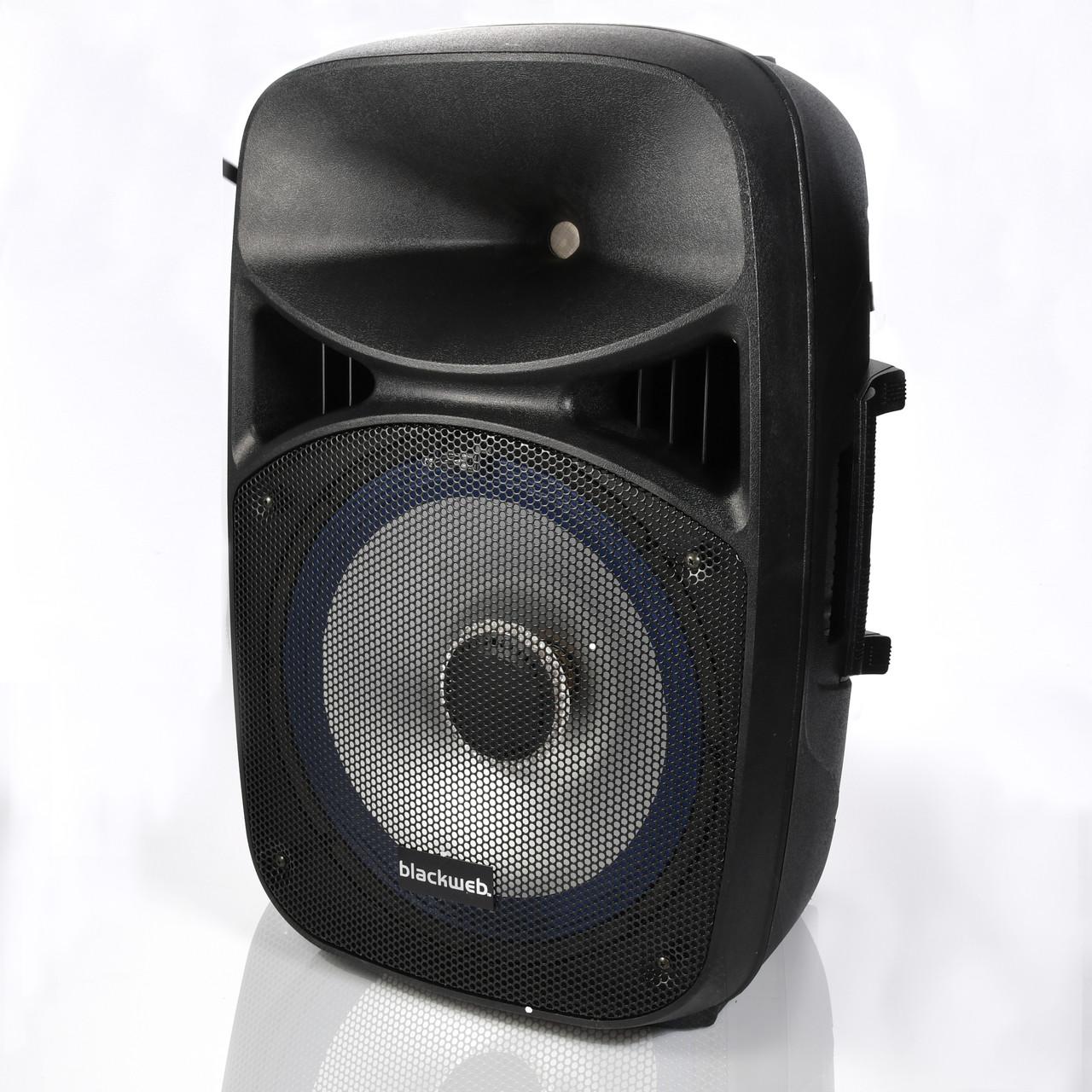 Blackweb Led Lighted Bluetooth Speaker