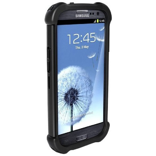 Ballistic SX0932-M005 MAXX Case with Holster for Samsung Galaxy S3 - Black [Black, Standard Packaging, Design case]