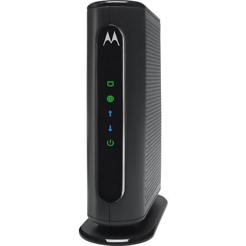 Motorola - DOCSIS 3.0 Cable Modem MB7220 - Gray