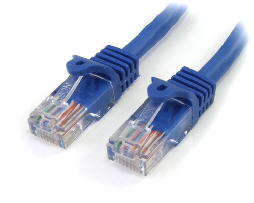 HiLine Standard 15' Foot Ethernet LAN Cat 5 Cable