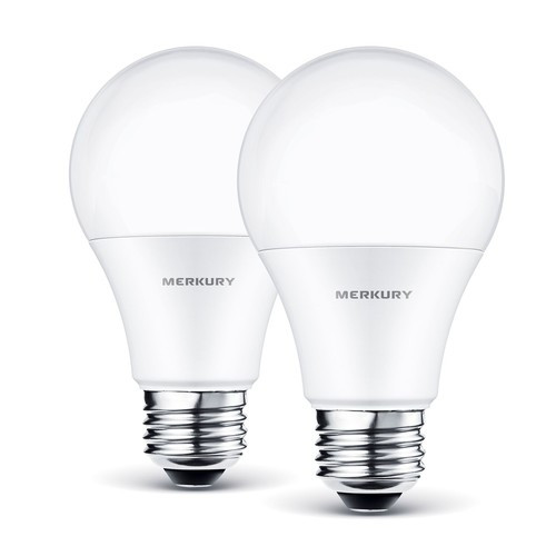 Merkury Innovations Dimmable White Smart A19 Light Bulb 60W No Hub Required