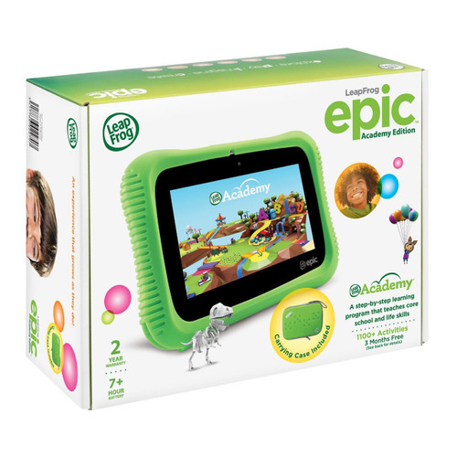 VTech 6022 Epic Academy Edition Kids Learning Tablet - Green