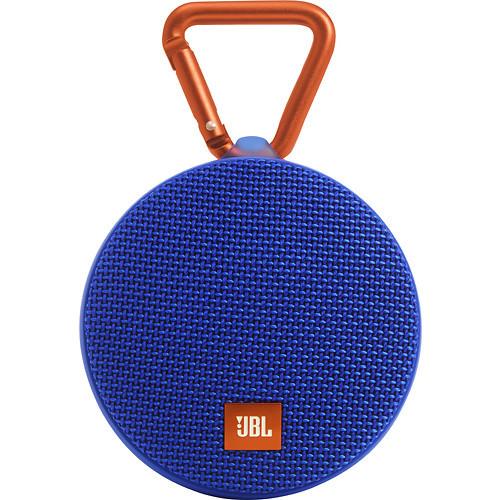 JBL Clip 2 Portable Wireless Bluetooth Speaker Blue