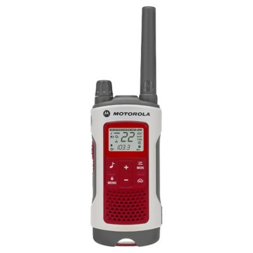 Motorola Talkabout T480 FMS/GMRS Two Way 22 Channel Emergency Radio NOAA Weather