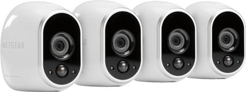 Arlo Smart Home Indoor/Outdoor Wireless HD Security Cameras (4-Pack)