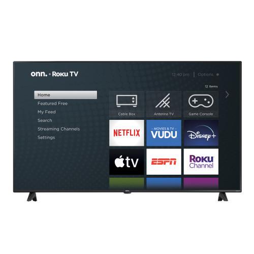"Onn 65"" Inch 4K UHD Smart Roku LED TV (100012587)"